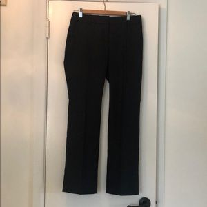 JCrew Pinstripe Navy Pants